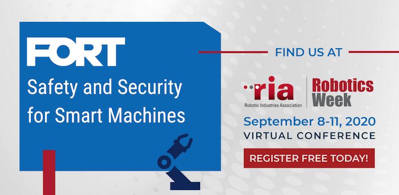 Join FORT at RIA Robotics Week