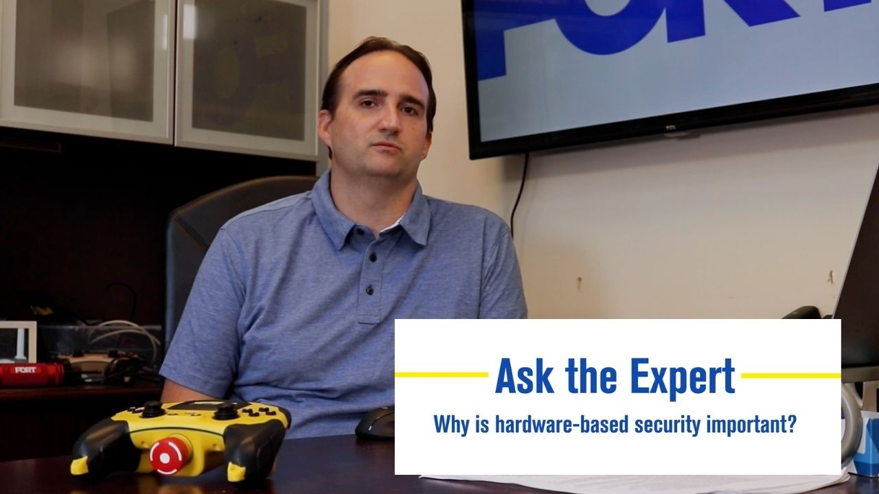 Ask the Expert Video: Why is Hardware-Based Security Important?