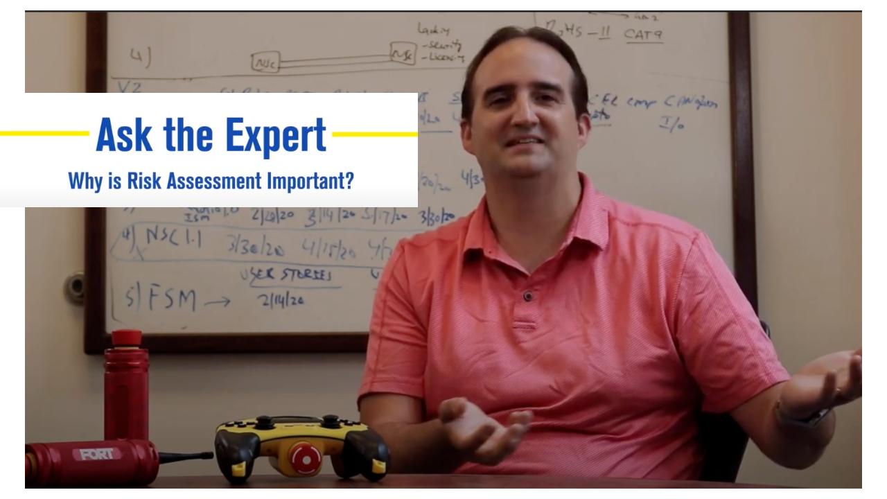 Video: The Value of Risk Assessment