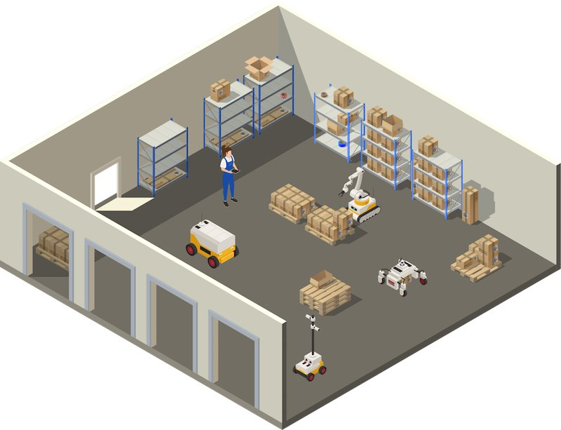 Warehouse Robots and the New Normal